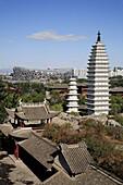 China,  Beijing,  Ethnic Culture Park,  Yunnan pagodas,  National Stadium