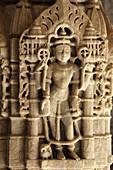 India,  Rajasthan,  Ranakpur,  Chaumukha,  Jain temple of Adinath