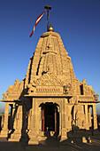 India,  Rajasthan,  Thar Desert,  Amar Sagar,  Jain Temple