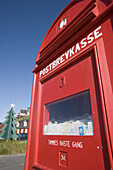 Giant letterbox for letters to Santa Claus, Nuuk, Kitaa, Greenland