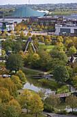 Amusement park, Neue Mitte Oberhausen, North Rhine-Westphalia, Germany