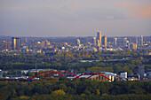 Cityscape, Essen, North Rhine-Westphalia, Germany