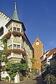 Gasthof Zum Bären, Obertor, Meersburg, Bodensee, Baden-Württemberg, Deutschland