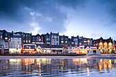Seaside town of Scarborough, North Yorkshire, England, Great Britain, Europe