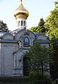 Russische Kirche zur Verklärung des Herrn, Baden-Baden, Baden-Württemberg, Deutschland