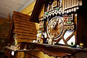 Cuckoo clock, Black Forest, Baden-Wuerttemberg, Germany