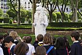 Living statue, Plaza del Oriente, Madrid, Spain