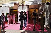 New opening of a shoe store by Stuart Weizmann, Madrid, Spain