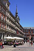 Casa de la Panaderia, Plaza Mayor, Madrid, Spain