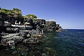 Bathing places, Grand Hotel Baia Verde, Catania, Sicily, Italy