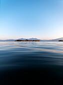 Fraueninsel, Lake Chiemsee, Chiemgau, Bavaria, Germany