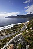 Coastal road, False Bay, City of Capetown, South Africa