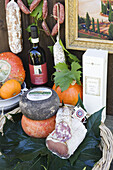 Delicatessen, Tuscany, Italy