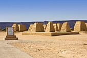Kings Graves of the Garamants near Germa, Libya, Sahara, North Africa