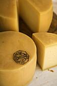 Idiazabal cheese, Goierri, Guipuzcoa, Basque Country, Spain
