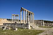 Temple of Caelestis, Roman ruins of Dougga, Tunisia  December 2008)