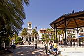 Main Square, San Pedro de Alcantara. Malaga province, Andalusia, Spain