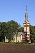 church at Krimulda, Latvia, Baltic State, Eastern Europe.