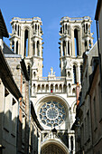 Cathedral of Notre-Dame, Laon. Aisne, Picardy, France