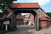 D-Badbergen, Samtgemeinde Artland, Hase, Hasetal, Artland, Niedersachsen, Artlaender Bauernhof, Hof Elting-Bussmeier, D-Badbergen, Samtgemeinde Artland, Hase, Hase valley, Artland, Lower Saxony, Artland farmhouse, farm Elting-Bussmeier *** Local Caption *