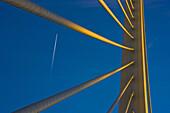 Assut d´or  bridge, Ciudad de las Artes y las Ciencias, Valencia, Comunidad Valenciana, Spain
