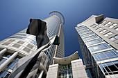 Germany, Hessen, Frankfurt-am-Main, Financial District, DZ Bank Tower