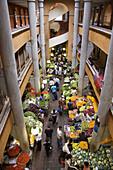 Central Market interior, Port Louis, Mauritius