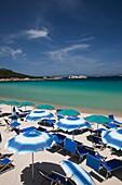 Italy, Sardinia, Northern Sardinia, Costa Smeralda, Baia Sardinia, resort beach