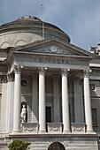 Italy, Lombardy, Lakes Region, Lake Como, Como, Tempio Voltiano, museum to Como-born Alessandro Volta, inventor of the electric battery