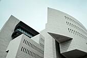 Italy, Lombardy, Lake Lugano, Campione D´Italia, Casino di Campione, Mario Botta, architect