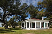 USA, Mississippi, Biloxi, Beauvoir, The Jefferson Davis Home and Presidential Library, former home of US Civil War-era Confederate President, Hayes Pavillion