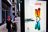 Nomination poster for the 2016 Olympics, Chicago, Illinois, USA