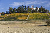 Palace near Alba, Rabaglio-Viglino, Langhe, Piedmont, Italy