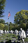 Korean War Veterans Memorial, Washington DC, USA