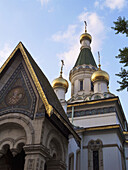 The Russian Church or the Church of St. Nicholas the Miracle-Maker, built in 1914 is dedicated to the patron-saint of the Russian Tsar at the time Nicholas II.