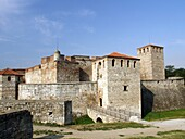 Medieval fortress  Baba Vida,  Vidin, BulgariaBaba Vida  is a medieval fortress in Vidin in northwestern Bulgaria and the town´s primary landmark. It consists of two fundamental walls and four towers and is said to be the only entirely preserved medieval