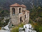 Church of St Mary of Petrich, Assen fortress, Asenovgrad, Bulgaria, Europe