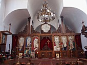 Church ´St. Petka Bulgarian´, village  Rupite, BulgariaChurch ´St. Petka Bulgarian´  was built with the idea of Vanga with funds collected from donations. Vanga  31 January 1911 – 11 August 1996), Vangelia Gushterova  was a blind Bulgarian prophet, mystic