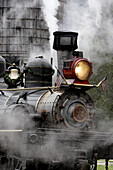 Steam Locomotive Engine in American West