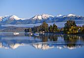 Lake Te Anau Fiordland New Zealand