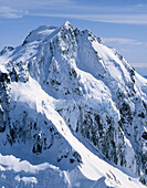 Mount Madeline 2537m Fiordland´s second highest peak New Zealand