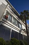 Original Bauhaus Building, Ruppin Street, Tel Aviv, Israel, Middle East
