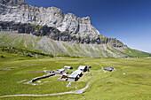 Mountain hut Refuge Alfred Wills, Rochers de Fiz, Rhone-Alpes, France