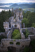 Castle ruin Prandegg, Muehlviertel, Upper Austria, Austria