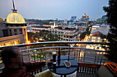 View over Saigon from the Caravelle Hotel, Saigon, Ho Chi Minh City, Vietnam