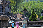grave of Khai-Dinh near Hue, Vietnam