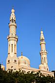 Aussenaufnahme der Jumeirah Moschee, Dubai VEA