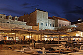 Dubrovnik harbour, Dominican Monastery, Old City of Dubrovnik, Croatia, Europe
