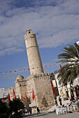 Sousse Ribat, Tunisia. It is the most famous and wellknown ribat in Tunisia. It was built 787, 821 AD.