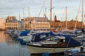 Boats in the harbour (Norra Hamnen), Helsingborg, Skane, Sweden